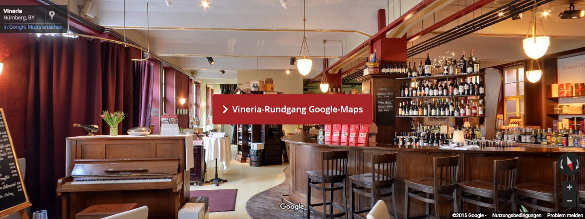 Vineria-Rundgang bei Google-Maps